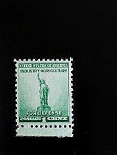 Buy 1940 1c Defense, Statue of Liberty Scott 899 Mint F/VF NH