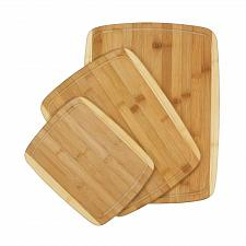 "Buy *16977U - Bamboo Cutting Board 3pc Set 15 3/4"" - 13"" - 9 7/8"""
