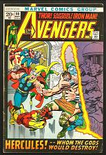 Buy AVENGERS #99 Fine/+ Marvel Comics BARRY SMITH 1st Print&Series 1972 ThomasSutton