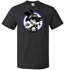 Buy Saiyan Quest Unisex T-Shirt Pop Culture Graphic Tee (4XL/Black) Humor Funny Nerdy Gee