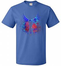 Buy Genkidama Art Unisex T-Shirt Pop Culture Graphic Tee (2XL/Royal) Humor Funny Nerdy Ge