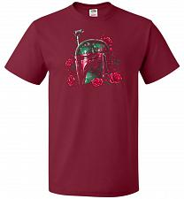 Buy Phantom Of The Empire Fett Unisex T-Shirt Pop Culture Graphic Tee (XL/Cardinal) Humor