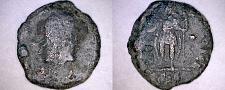 Buy 348-58AD Ancient Roman Imperial Constantius II AE15 Emperor Left w Globe - SIS