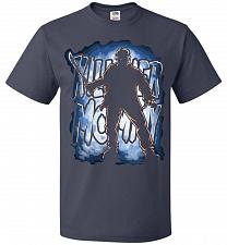 Buy Jason Voorhees Killer Mommy Adult Unisex T-Shirt Pop Culture Graphic Tee (3XL/J Navy)