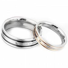 Buy coi Jewelry Titanium Love is Always Ring - JT1715(Size:#US6)