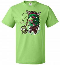 Buy Zime That Stole Christmas Unisex T-Shirt Pop Culture Graphic Tee (3XL/Kiwi) Humor Fun