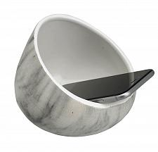 Buy :10879U - White Marble Ceramic Boom Bowl