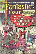 Buy Fantastic Four #36 Stan Lee Jack Kirby 1966 MarvelComics 1stPrint&Series MEDUSA