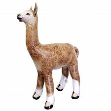 "Buy Inflatable 30"" Alpaca Accents for Kids and Adult Party Favors gift"