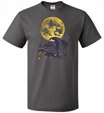 Buy Hocus Pocus Halloween Unisex T-Shirt Pop Culture Graphic Tee (S/Charcoal Grey) Humor