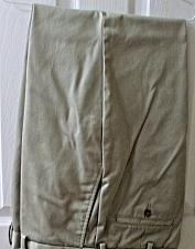 Buy Mens 34 x 29 George Khaki Pant EUC