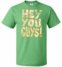 Buy Goonies Hey You Guys! Adult Unisex T-Shirt Pop Culture Graphic Tee (M/Kelly) Humor Fu