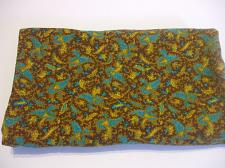 Buy Multi Color Paisley Cotton Fabric 29 inches x 47 inches