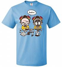 Buy My First Science Kit Unisex T-Shirt Pop Culture Graphic Tee (S/Aquatic Blue) Humor Fu