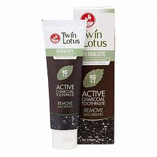Buy Twin Lotus Herbaliste Active Charcoal Toothpaste 50 grams