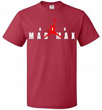 Buy Air Mad Max Unisex T-Shirt Pop Culture Graphic Tee (L/True Red) Humor Funny Nerdy Gee