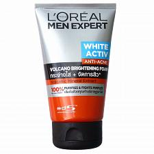 Buy L'Oreal Men Expert White Activ Anti Acne Volcano Brightening Foam 100ml