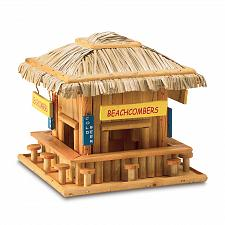 Buy 34715U - Beach Hangout Decorative Wood Birdhouse