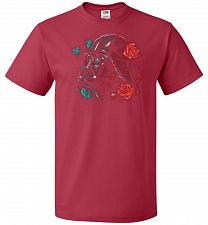 Buy Darkside of the Bloom Unisex T-Shirt Pop Culture Graphic Tee (4XL/True Red) Humor Fun