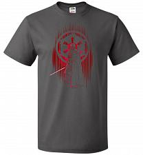 Buy Shadow Of The Empire Unisex T-Shirt Pop Culture Graphic Tee (3XL/Charcoal Grey) Humor