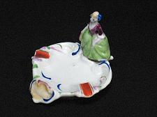 Buy Porcelain Victorian Lady Figural Ashtray Snuffer Vintage Japan