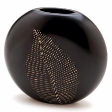 Buy 12053U - Artisan Leaf MDF Wood Vase Decorative Accent