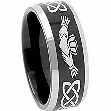 Buy coi Jewelry Tungsten Carbide Mo Anam Cara Wedding Band Ring