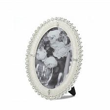 Buy *16933U - Rhinestone Shine Oval Picture Frame Holds 4x6 Photo