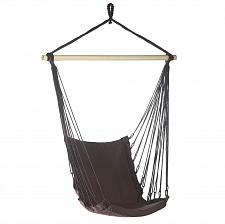 Buy *15978U - Espresso Cotton Padded Swing Chair