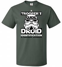 Buy A Trooper's GuideTo Droid Identification Unisex T-Shirt Pop Culture Graphic Tee (6XL/