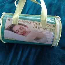 Buy Aloe Vera Bamboo Essence Queen Size Sheet Set 1800 series 4 piece set