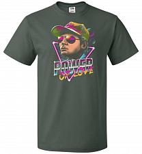 Buy Power Of Love Unisex T-Shirt Pop Culture Graphic Tee (4XL/Forest Green) Humor Funny N