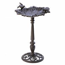 Buy D1336U - Forest Frolic Leaf Basin Cast Iron Bird Bath Yard Art
