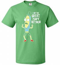 Buy The Great Poopy Buttholio Unisex T-Shirt Pop Culture Graphic Tee (6XL/Kelly) Humor Fu