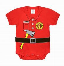Buy One Piece Fireman Infant Bodysuit