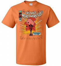 Buy Unstable Mercenary Guy Unisex T-Shirt Pop Culture Graphic Tee (2XL/Tennessee Orange)