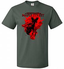 Buy A Nightmare On Maple Street Unisex T-Shirt Pop Culture Graphic Tee (2XL/Forest Green)