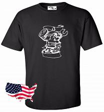 Buy Biker Wrenches Skull Motorcycle Tattoo T shirt #10