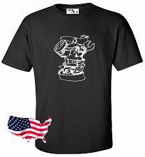 Buy Biker Wrenches Skull Motorcycle Tattoo T shirt #10