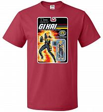 Buy GI KAI Unisex T-Shirt Pop Culture Graphic Tee (XL/True Red) Humor Funny Nerdy Geeky S