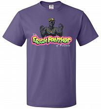 Buy Fresh Panther Unisex T-Shirt Pop Culture Graphic Tee (L/Purple) Humor Funny Nerdy Gee