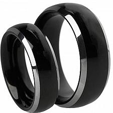 Buy coi Jewelry Tungsten Carbide Couple Wedding Band Ring