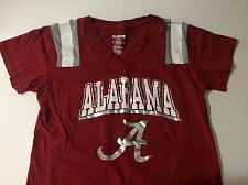 Buy PROEDGE #14 Alabama Crimson Tide V-Neck T-Shirt Youth Medium 100% Cotton NWOT
