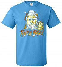 Buy Tiger Style Unisex T-Shirt Pop Culture Graphic Tee (M/Pacific Blue) Humor Funny Nerdy