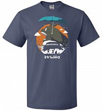 Buy The Neighbors Journey Unisex T-Shirt Pop Culture Graphic Tee (6XL/Denim) Humor Funny