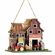Buy 14257U - Feed & Grain Farmstead Decorative Wood Birdhouse