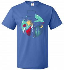 Buy Knight Of The Moonlight Unisex T-Shirt Pop Culture Graphic Tee (XL/Royal) Humor Funny