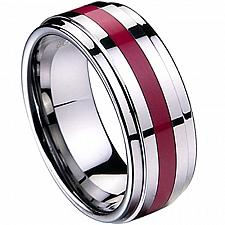 Buy coi Jewelry Tungsten Carbide Ring-TG2537(US9.5)