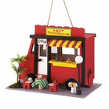 Buy *17329U - Hot Dog Doggeria Wooden Birdhouse