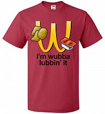 Buy I'm Wubba Lubbin' It Adult Unisex T-Shirt Pop Culture Graphic Tee (2XL/True Red) Humo